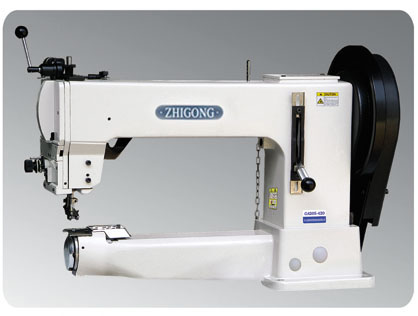 GA205-420 Drum-type Flat Seaming Machine for Extremely Thick Material with Comprehensive Feeding