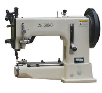 GA205A/B Single needle Sewing Machine For Think Material with upper and lower Complex Feeding