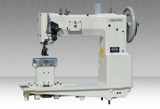 GWN-28BL15 Long-arm Post-bed Type Sewing Machine for Thick Material with Comprehensive Feeding