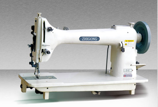 GSC254 Sewing Machine for Extremely Thick Material with upper and lower Complex feeding