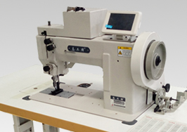 GB266-102C Single/double Needle Pattern Sewing Machine for Heavy Materials with Extra Thick Line