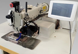 ZQK273-2010 Type Heavy-weight Material Electronic Pattern Sewing Machine Used for Climbing Rope