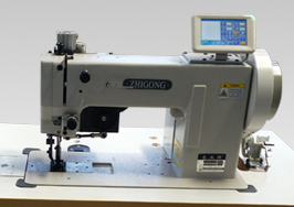 GB266-102E Single/double Needle Pattern Sewing Machine for Heavy Materials with Extra Thick Line