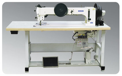 GA204-762 Long-arm Sewing Machine for Extra-thick Material with Comprehensive Feeding