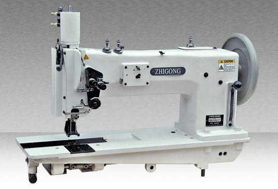 GW-28BL15 Long-arm Single/Double-needle Sewing Machine for Thick Material with Comprehensive Feeding