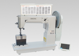 GA243-HM820 Column Type Single/double Needle Electronic �C pattern - sewing Machine with Compound Feed