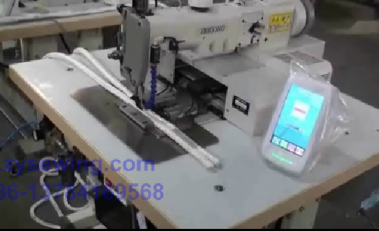 ZQK273-2010 Type Electronic Pattern Sewing Machine Used for Climbing Rope